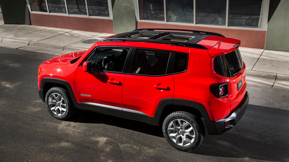 Jeep Renegade New for 2015 JeepBoltPattern